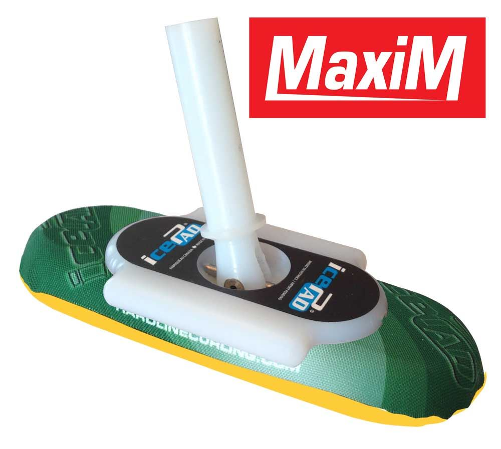 icePad MaxiM Brushes Green/Yellow