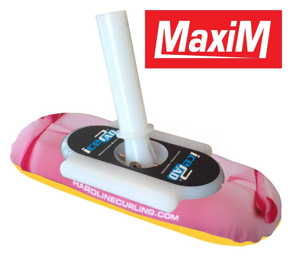 icePad MaxiM Brushes Pink/Yellow