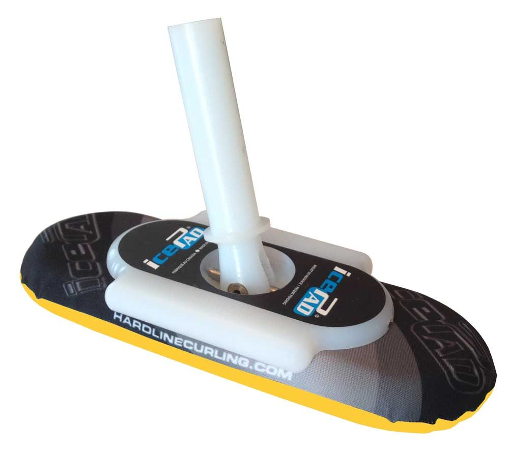 icePad Brushes Black/Yellow Recreational Pro Cover