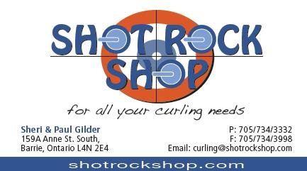 Hardline Curling Shot Rock Shop