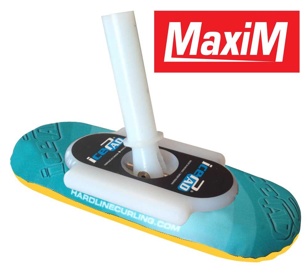 icePad MaxiM Brushes Aqua/Yellow