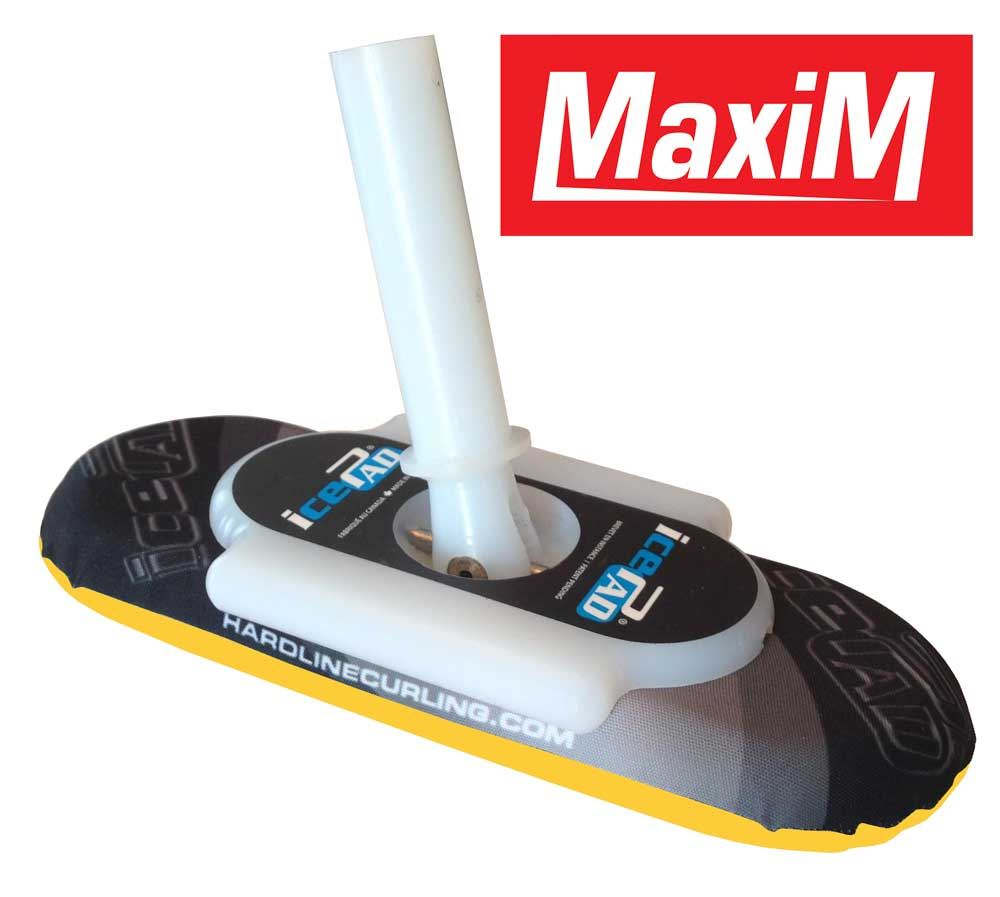 icePad Maxim Brushes Black/Yellow
