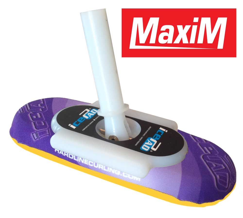 icePad MaxiM Brushes Mauve/Yellow