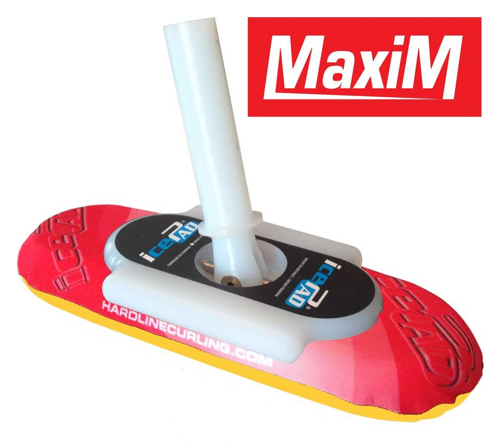 icePad MaxiM Brushes Red/Yellow